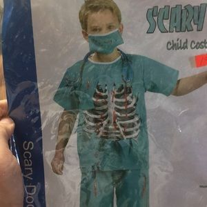 Scary dr child costume